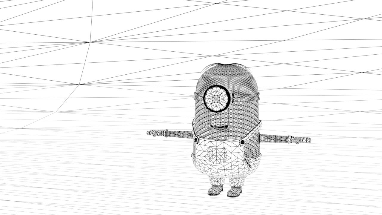 minion_wireframe