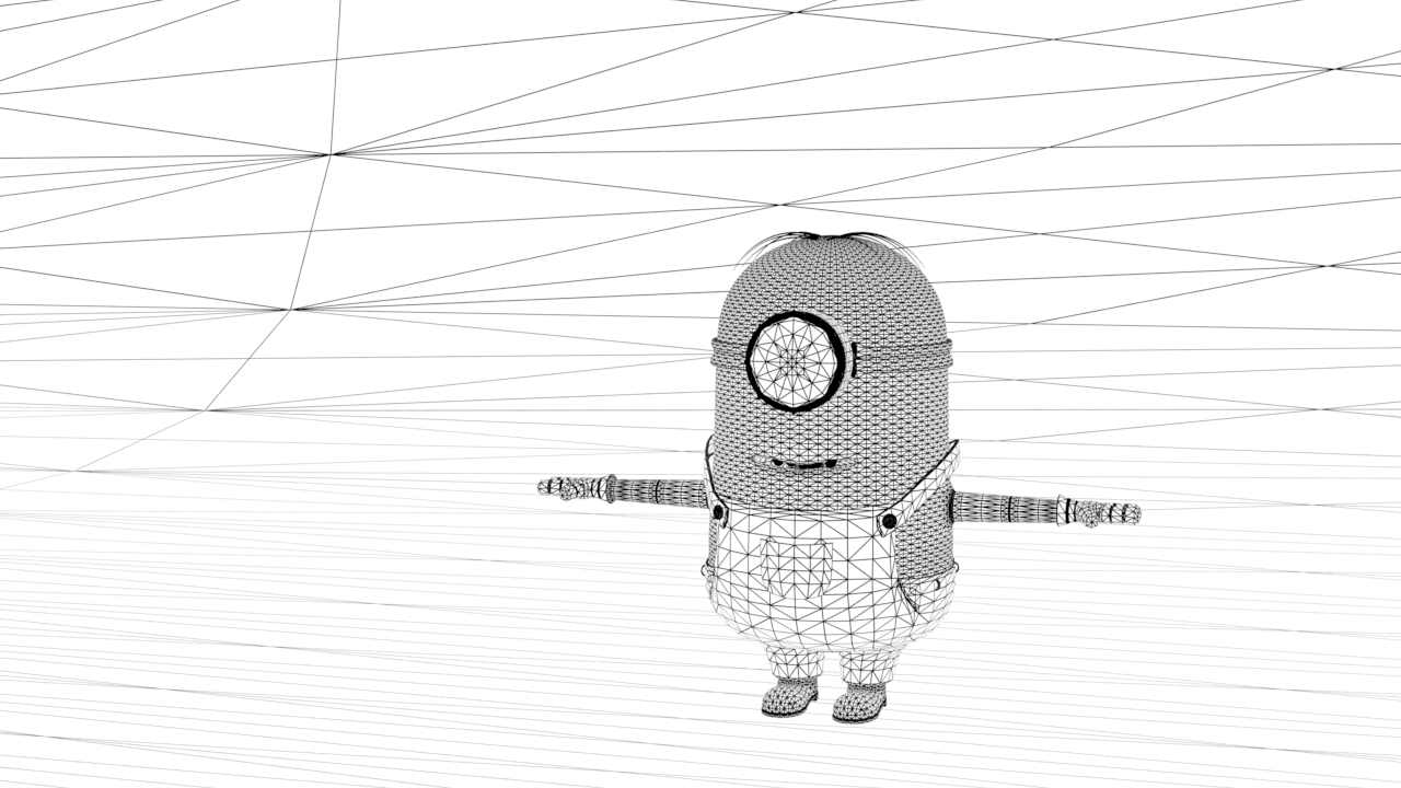 minion_wireframe