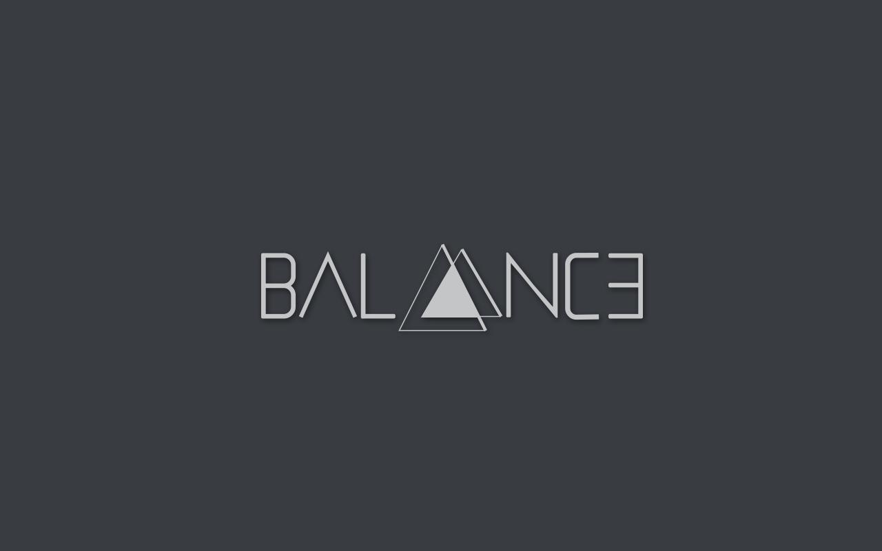 balance radio logo design maria christofi